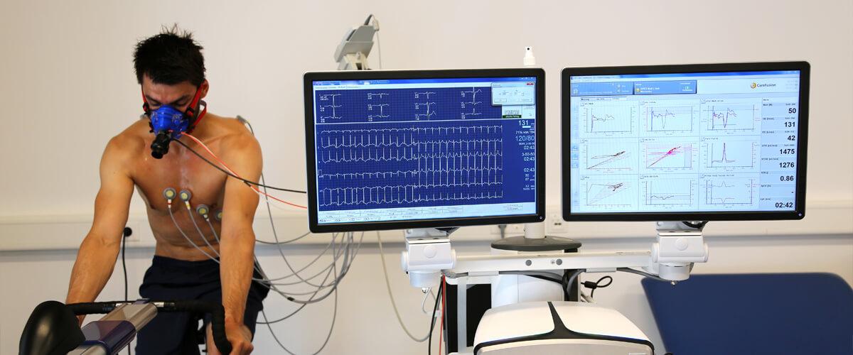 Leistungs-EKG mit Ergometrie